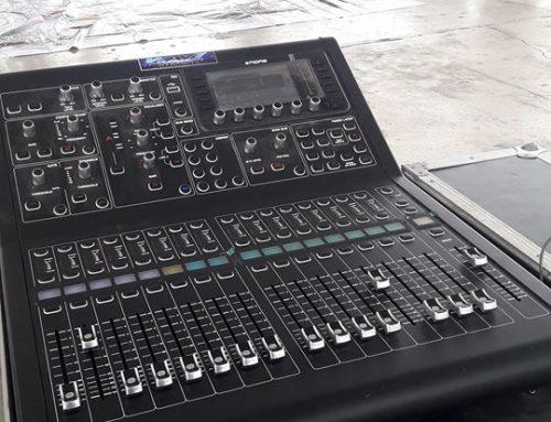 WAVE Pro Lights and Sound by Wawi Villanueva using Midas M32R!